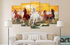 Hình ảnh ngựa trong phong thủy