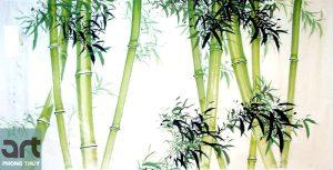 Ý nghĩa tranh cây tre trong phong thủy