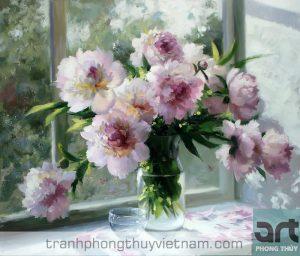 Ý nghĩa tranh hoa mẫu đơn trong phong thủy