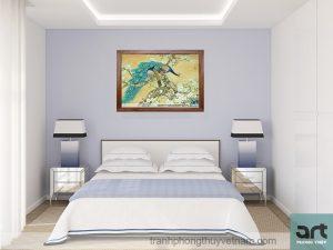 Bí quyết treo tranh phòng ngủ hợp phong thủy