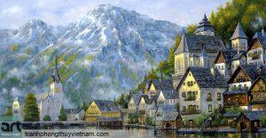 tranh sơn dầu phong cảnh 02