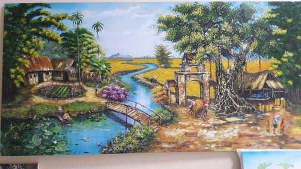 tranh sơn dầu giá rẻ hà đông hà nội