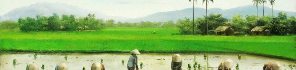 tranh sơn dầu giá rẻ Hà Nội