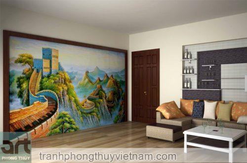 mẫu tranh tường 03