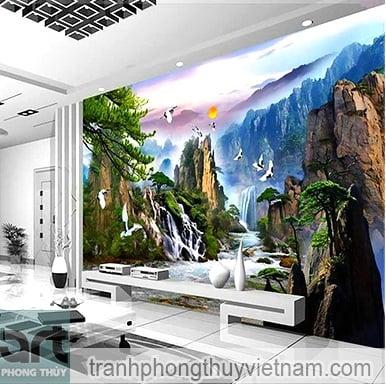 mẫu tranh tường 10