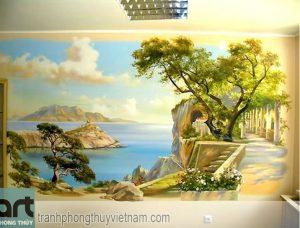 Những mẫu tranh tường phòng khách tuyệt đẹp dành cho gia đình