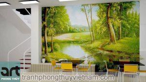 Tư vấn và thi công vẽ tranh tường tại Hà Đông Hà Nội