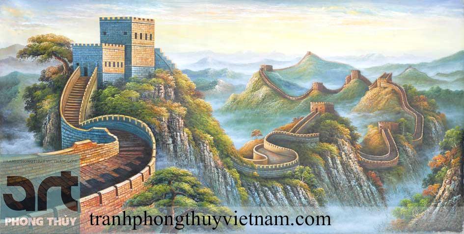 vẽ tranh phong cảnh sơn dầu