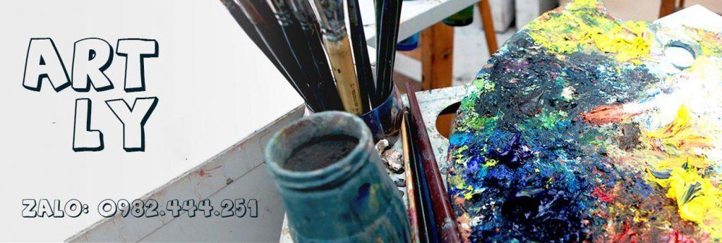 vẽ tranh sơn dầu
