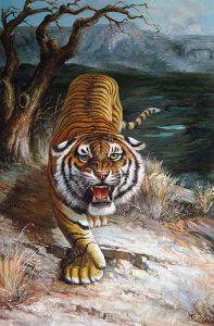Những điều bạn nên biết khi treo tranh hổ phong thủy