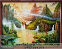 vẽ tranh sơn thủy