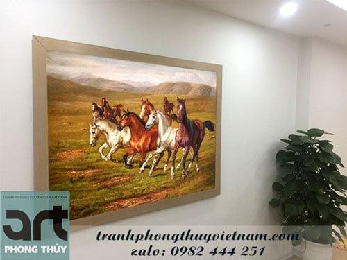 cách treo tranh ngựa mã đáo thành công theo phong thủy