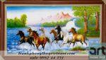 tranh ngựa bát mã