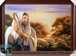 tranh sơn dầu chúa giê su