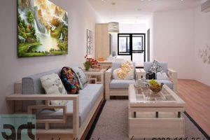 Chọn tranh phong thủy phòng khách nhà chung cư cho người mệnh thổ