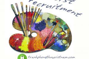 tuyển dụng họa sĩ vẽ tranh