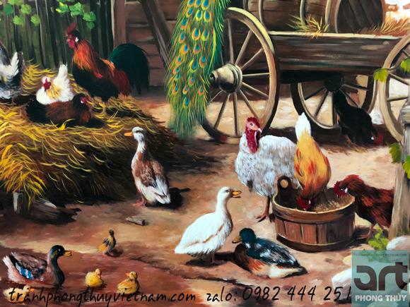 vẽ tranh sơn dầu cao cấp
