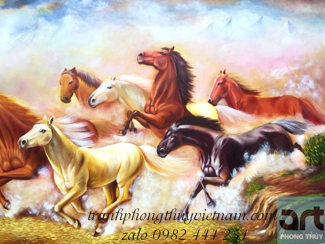 những chú ngựa phi nước đại