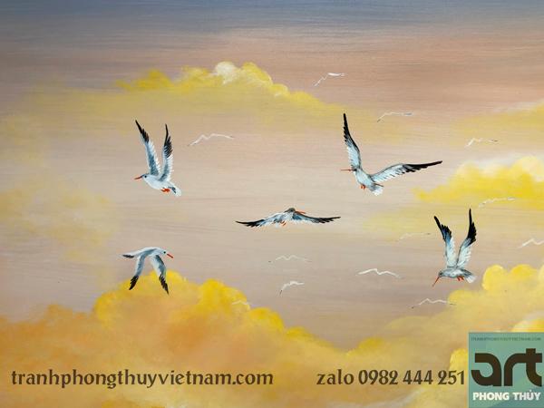 đàn chim hải âu