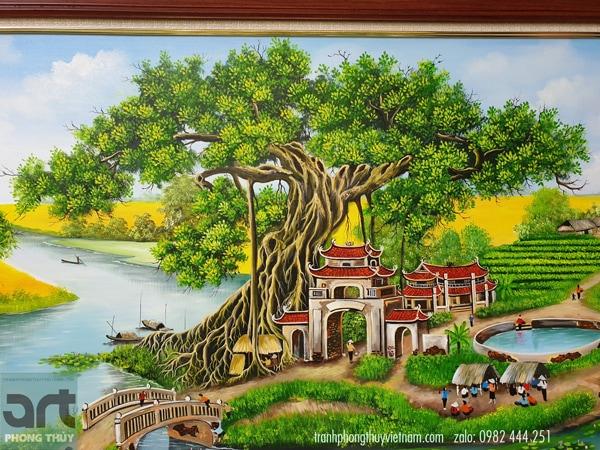 Hình ảnh cây đa bến nước sân đình