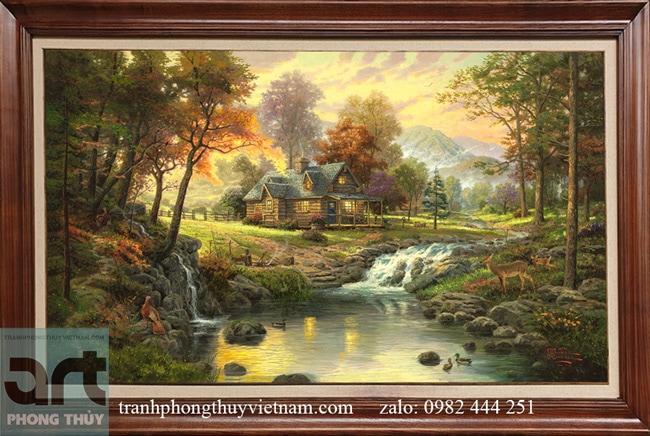Tranh phong cảnh Thomas Kinkade