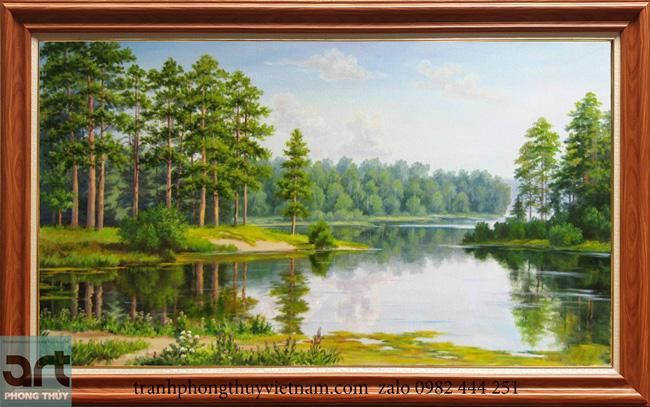 Tranh phong cảnh châu âu đẹp treo trang trí