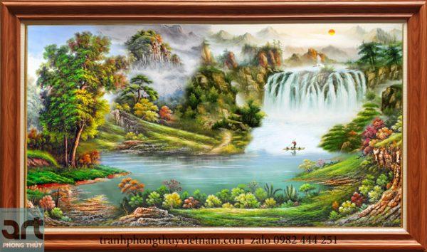 Tranh phong cảnh sơn thủy đẹp 2020