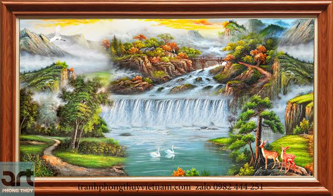 Tranh phong cảnh sơn thủy ý nghĩa