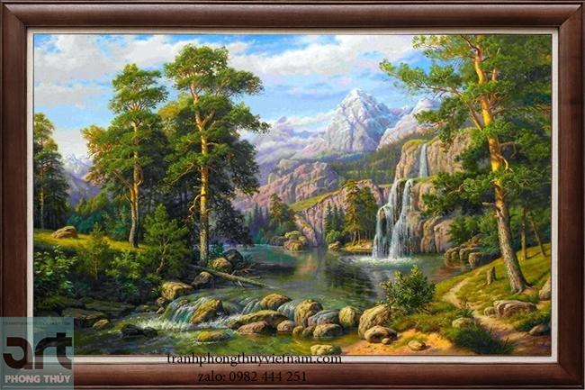Tranh phong cảnh nước ngoài đẹp treo trang trí